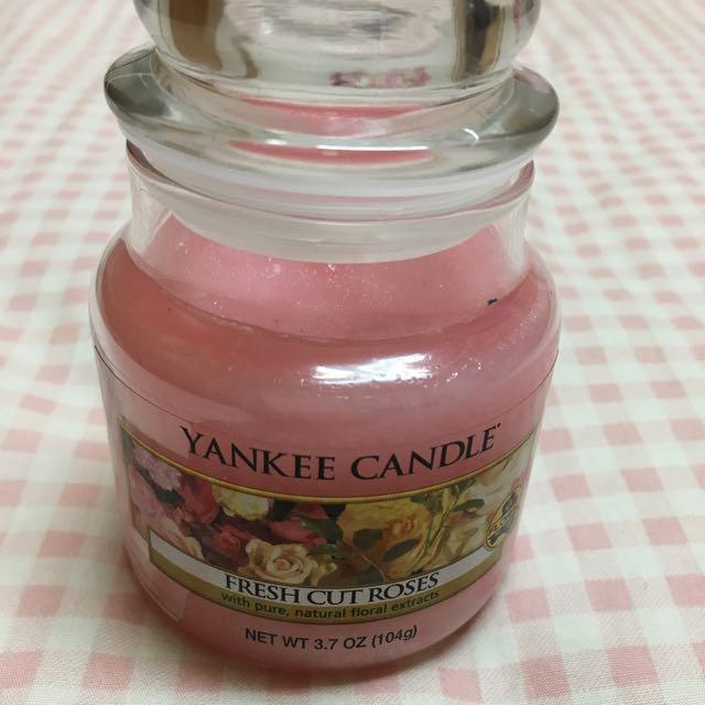 美國天然香芬蠟燭洋基yankee Candle