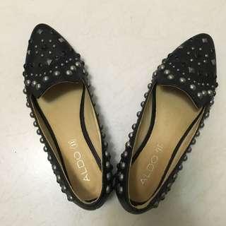 ALDO 牛皮鉚釘鞋