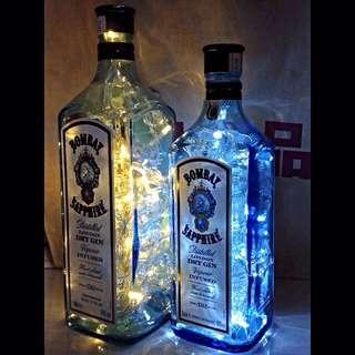 Bombay Sapphire Lamp