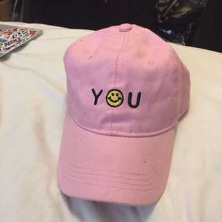 Cute Pink Baseball Hat