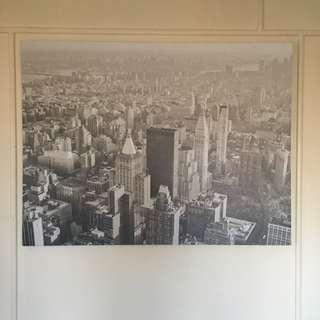City Scape Canvas