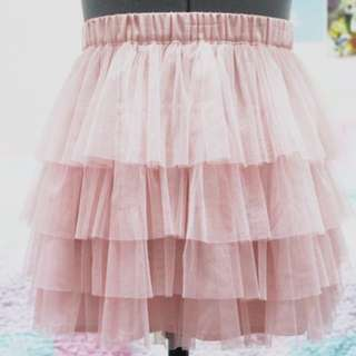H&M Pink Tulle Skirt
