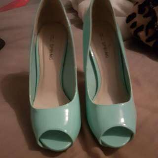 Peep Toe Heels Size 6
