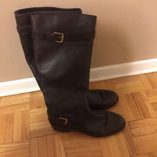 Ralph Lauren Brown Riding Boots Size 9