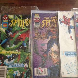 Letting Go All Comics Spiderman 90an