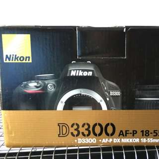 (Reserved)2 Months Old Nikon D3300