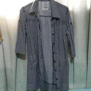 Ninety Degrees Stripes Shirt