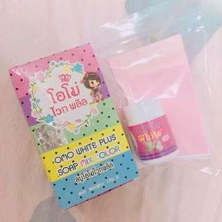 ✨泰國-彩虹肥皂+蘆薈粉刺凝膠一組✨