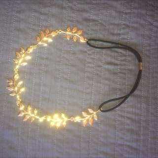 Gold Lead Headband