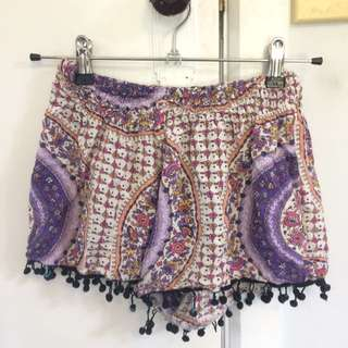 Indie Printed Shorts