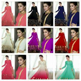 Gorgeous Trisha Anarkali Suits