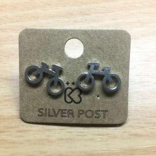 自行車耳環