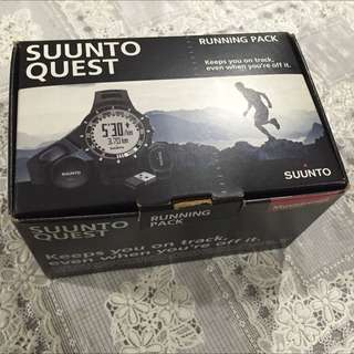 Suunto Quest Black Running Watch