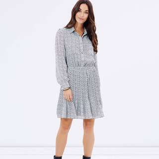 Brand New Atoms&there Pleated Shirt Dress