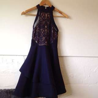 Dotti Halter Neck Short Dress (AU8)