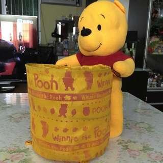 Winnie The Pooh 儲物公仔