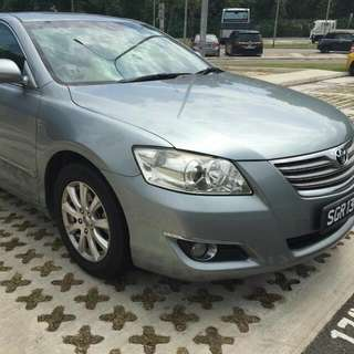 toyota camry 2.0 for rental for uber/grab