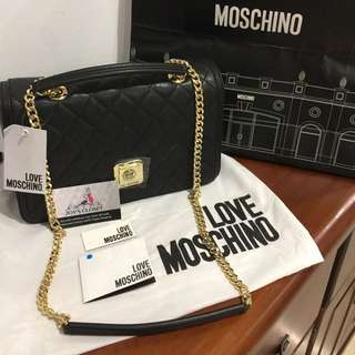 100% Authentic Moschino Chain Bag