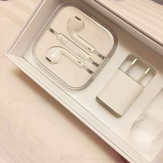 Apple原廠耳機+豆腐頭