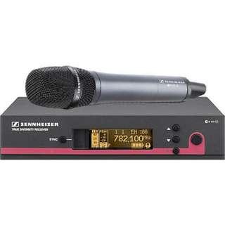 Sennheiser ew 135 G3 Wireless Handheld Microphone System with e 835 Mic