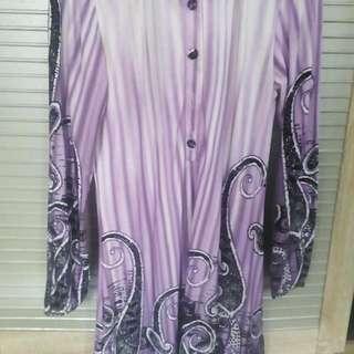 Preloved Tunik Purple