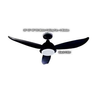 """Fanztec 38"""" 43"""" 48"""" Ceiling Fan - Brushless DC Motor With 22W RGB LED"""
