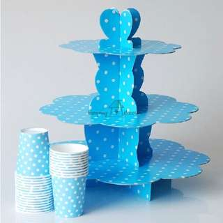 [PROMOTION] POLKADOTS CAKE STAND
