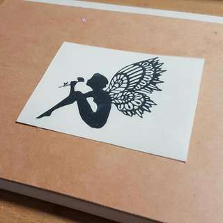 Customised Decal/ Sticker/ Quotes/ Fariy/ Laptop