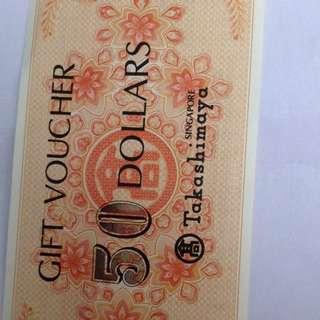 Takashimaya voucher(reserved)