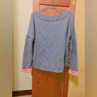 ❤️配色長袖上衣 棉質上衣