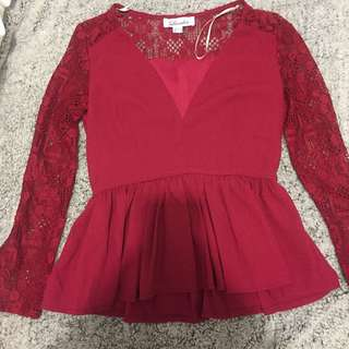 Red Dress Shirt