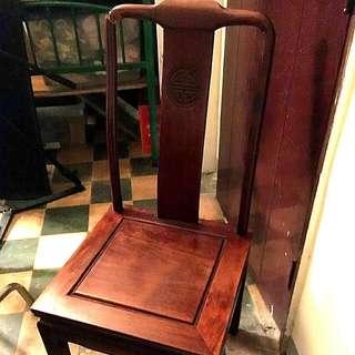 能坐,木椅