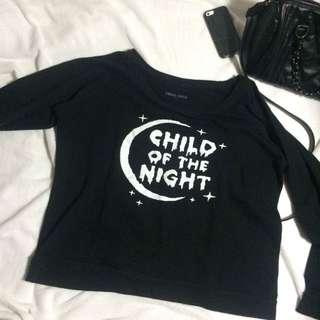 CHILD OF THE NIGHT SWEATER