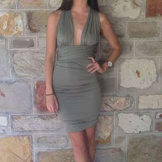 Kahki Dress