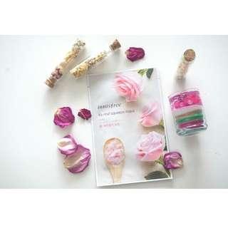 Halloween Sale !!!! Innisfree: It's real squeeze sheet mask – tea tree/ rose