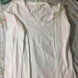 FORVER 21 (white) Long Sleeves