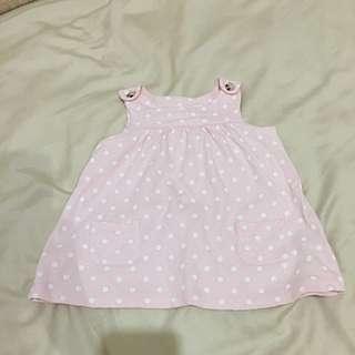 Dress Polkadot Pink