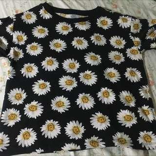 Crop Top (sun flower)