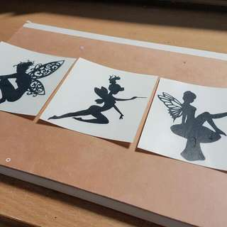 Customised Decal/ Sticker/ Names/ Fairy/ Faries