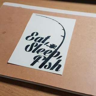 Customised Decal/ Sticker/ Names/ Fishing