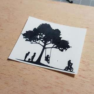 Customised Decal/ Sticker/ Tree/ Laptop/ Swing/ Names