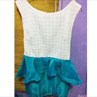 Dress Putih Tosca