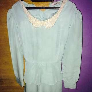 Dress Tosca Panjang