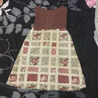 Brown Dress Fang Nan Hsuing