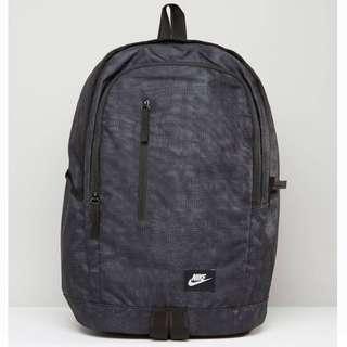 Nike黑色後背包