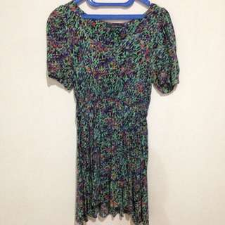 F21 Abstract Dress