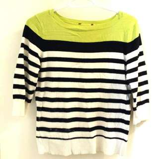 Stripes Warm Blouse For Winter