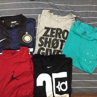 Nike短tee
