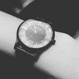超質感 MONO MILANO SERIES系列 雙面鏤空時尚腕錶
