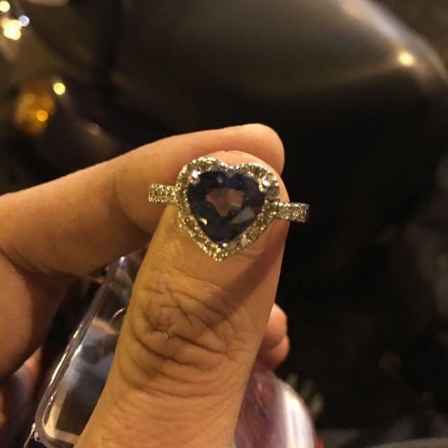 天然錫蘭藍寶石4.51克拉(附中國張證書)